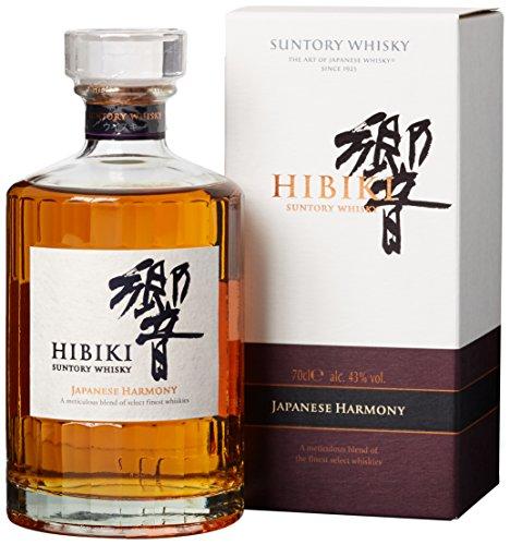 Suntory Whisky Hibiki Japanese Harmony, mit Geschenkverpackung, sanfter langanhaltender Nachgeschmack, 43{7fcaeac515b45f83ea838e9dccab38c50da056d18fe23cdb1a453c4dae097bfa} Vol, 1 x 0,7l