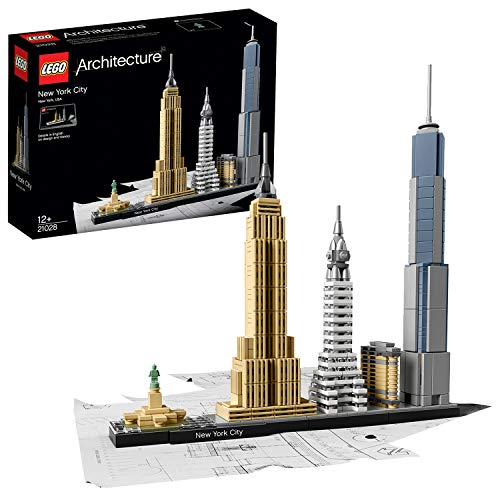 LEGO Architecture 21028 - New York City, Skyline-Kollektion, Bausteine