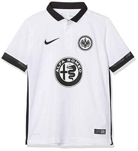 Nike Kinder Eintracht Frankfurt Away Stadium 2015/2016 Auswärtstrikot, weiß, 158/170
