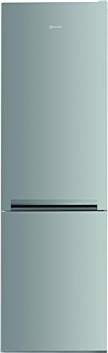 Bauknecht KG 335 A++ IN Kühl-Gefrier-Kombination /A++/ 189 cm Höhe / 243 kWh/Jahr / 228 L Kühlteil / 111 L Gefrierteil / Flüsterleise mit 38 dB /LessFrost/LED-Licht/Edelstahl-Optik/ProTouch-Oberfläche