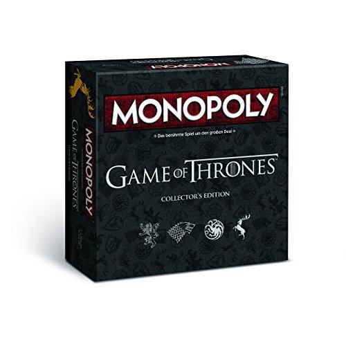 Monopoly Game of Thrones Collector\'s Edition – Das Spiel zur angesagten Serie (Deutsch)