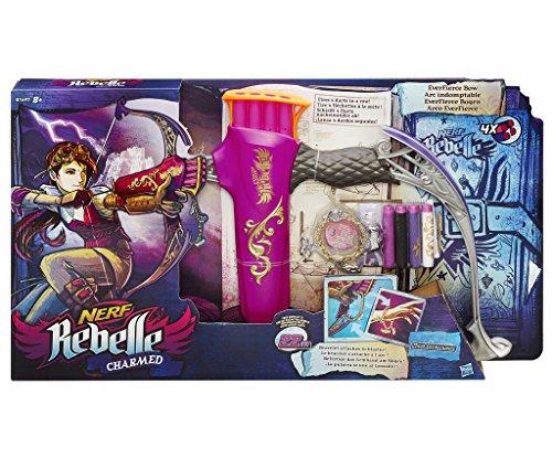 Hasbro Nerf Rebelle B1697EU4 - Charmed EverFierce Bogen, Spielzeugblaster