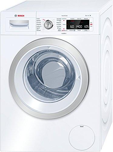 Bosch WAW28570 Serie 8 Waschmaschine Frontlader / A+++ / 196 kWh/Jahr / 1400 UpM / 8 kg / weiß / Fleckenautomatik / Trommelreinigung mit Erinnerungsfunktion