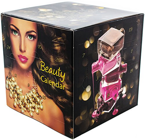 New CUBE Beauty Adventskalender mit Schminke - Würfel Kosmetik MakeUp Adventskalender für Frauen