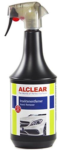 ALCLEAR 721IE Premium Insektenentferner für den Einsatz auf Autolack, Chrom und Kunststoffteilen, 1.000 ml