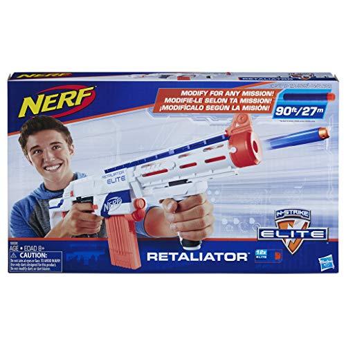 Hasbro Nerf 98696EU4 - N-Strike Elite Retaliator Spielzeugblaster in verschiendenen Farbausführungen