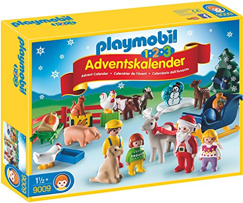Playmobil 9009 - 1.2.3 Adventskalender Weihnacht auf dem Bauernhof