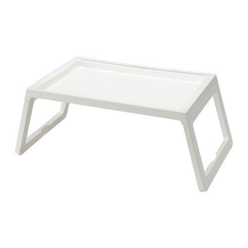 IKEA KLIPSK Tablett in weiß
