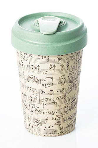 Coffe to go Becher Bamboo Cup (Music Notes)