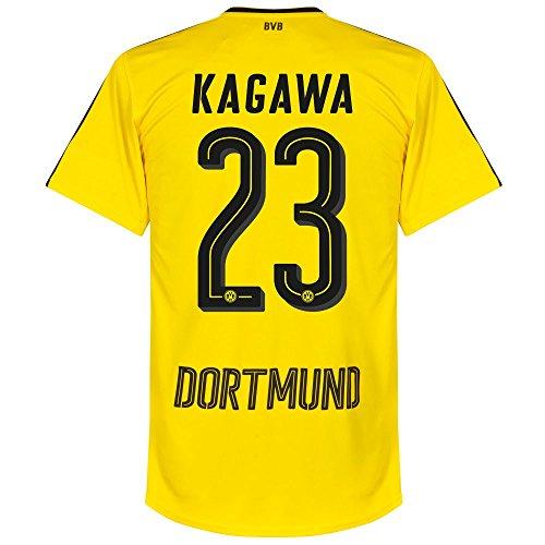 Borussia Dortmund Home Trikot 2016 2017 + Kagawa 23 - L