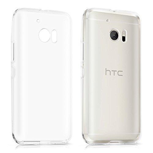 kwmobile HTC 10 Hülle - Handyhülle für HTC 10 - Handy Case in Transparent