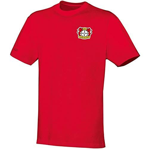 JAKO Kinder Team Bayer 04 Leverkusen T-Shirt, rot, 116