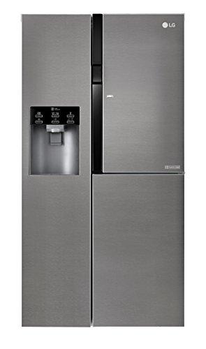 LG Electronics GSJ 361 DIDV Side by Side / A+ / 429 kWh/Jahr / 179 cm / 394 L Kühlteil / 197 Gefrierteil / dunkel graphite / Digitaldisplay mit Temperaturregelung / No Frost
