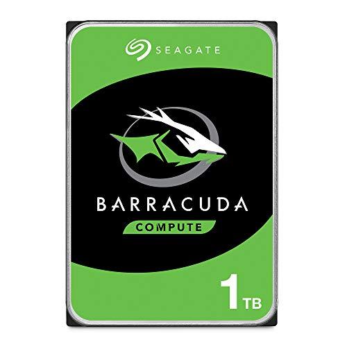 Seagate ST1000DM010 BarraCuda 1 TB intern Festplatte (8, 9 cm (3, 5 Zoll), 7200 u/min, 64 MB Cache, SATA 6 Gb/s, silber, Bulk)
