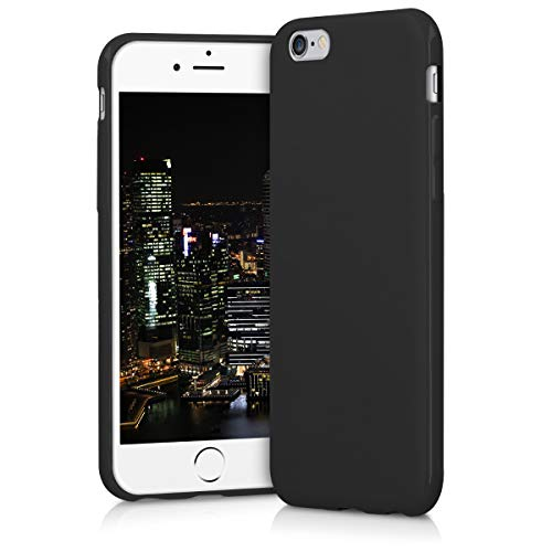kwmobile Apple iPhone 6 / 6S Hülle - Handyhülle für Apple iPhone 6 / 6S - Handy Case in Schwarz matt