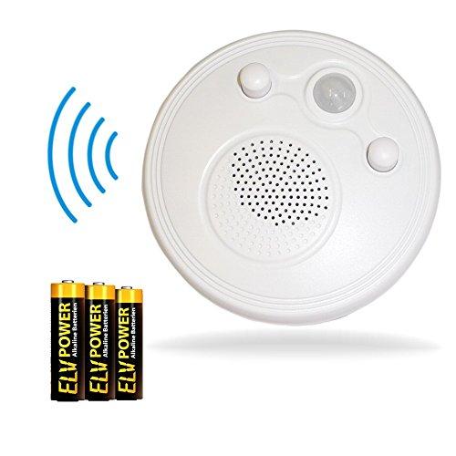 FM Radio mit Bewegungsmelder Badezimmerradio inkl. Batterien