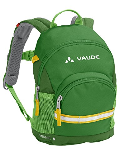 VAUDE Kinder Minnie 5 Kinderrucksack, Parrot Green, one size