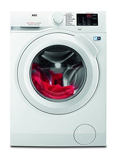 AEG L6FB54480 Waschmaschine / 8,0 kg / Leise / Mengenautomatik / Nachlegefunktion / Kindersicherung / Schontrommel / Wasserstopp / 1400 U/min