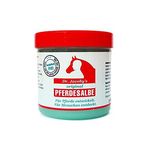Dr. Jacoby´s original Pferdesalbe 300ml -Der Geheimtipp zur schnellen Hilfe bei: Gelenkbeschwerden, Rückenverspannungen, müden Muskeln und Muskelkater