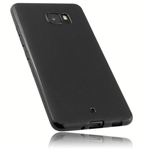 mumbi Hülle kompatibel mit HTC U Ultra Handy Case Handyhülle, schwarz