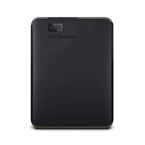 Western Digital Elements Portable, externe Festplatte - 2 TB - USB 3.0 - WDBU6Y0020BBK