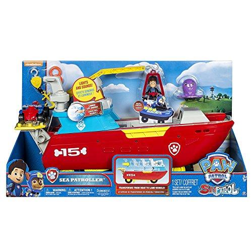 Paw Patrol - 6037846 Sea Patroller Schiff mit Licht und Geräuschen