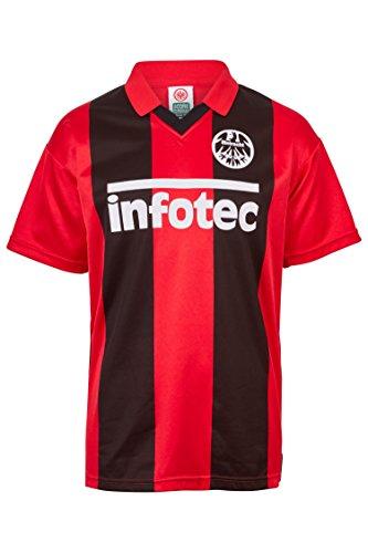 Score Draw Eintracht Frankfurt Trikot Home 1981 Herren S