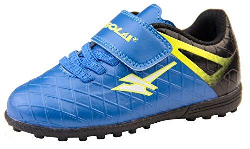 Fußballschuhe Activo5 Astroturf von Gola für Jungen, Blau - blau / schwarz - ,EU 26 (UK 8)