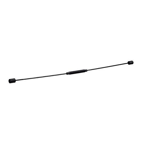 Relaxdays Swingstick 160 cm, flexibler Schwingstab für Vibrationstraining, Toning Bar für Tiefenmuskulatur, schwarz