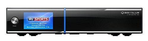 GigaBlue UHD-4K Quad 4K TV-Receiver schwarz