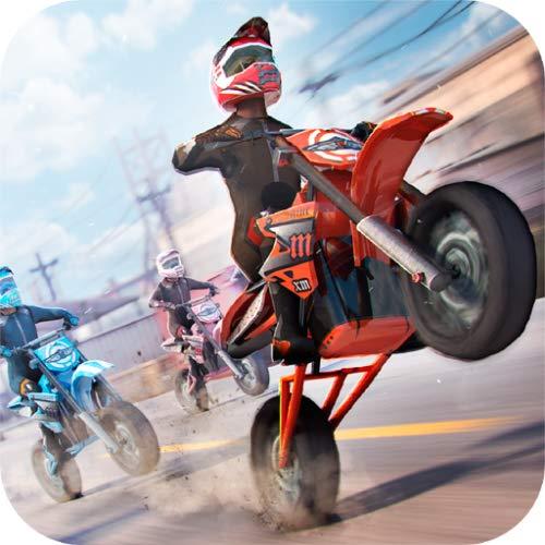 Trial Motorrad Racer 3D . Kostenlose Rennen Spiele Motocross