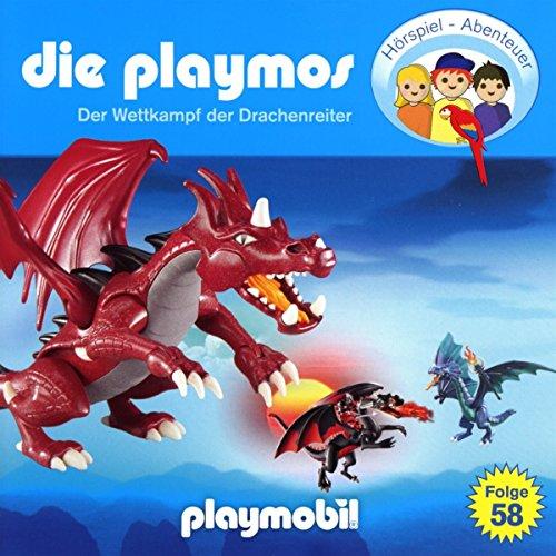 Die Playmos - Folge 58: Der Wettkampf der Drachenreiter (Das Original Playmobil Hörspiel)