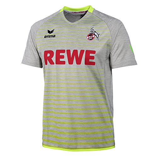 Erima 1.FC Köln 2017/2018 3rd Trikot Herren, grau/gelb, XXXL