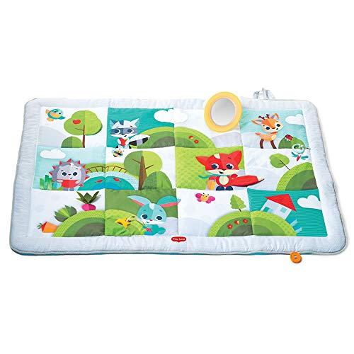 """Tiny Love Baby Krabbeldecke \""""Super Mat\"""" - Meadow Days Design, große Baby-Spieldecke im modernen Design, (0M+) nutzbar ab der Geburt, XL Spieldecke, 150 x 100 cm, mehrfarbig"""