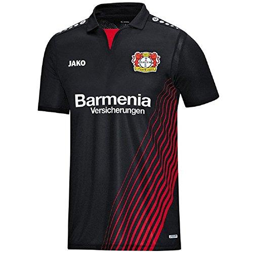 Bayer 04 Leverkusen JAKO Trikot Home 17/18 (black/red, M)