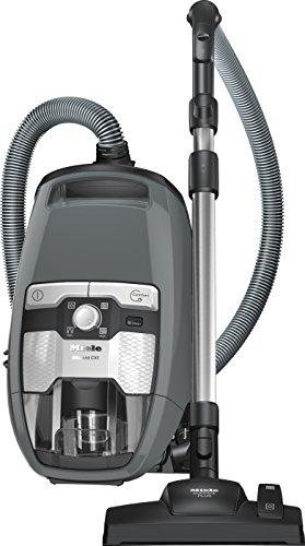 Miele Blizzard CX1 PowerLine Staubsauger ohne Beutel extrem leistungsstark/Energieklasse C (34,1 kWh)/890 W/Staubsauger mit 11m Radius/Staubsauger beutellos hygienisch entleerbar/grau