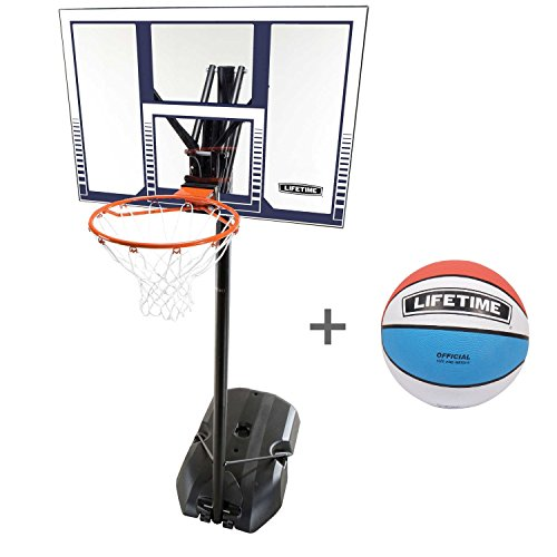 78866680, Lifetime Basketball-Anlage Boston mit Lifetime Ball Tricolor, 6804