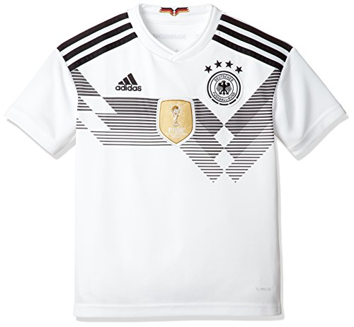 adidas Kinder Dfb Heim Replica Trikot, Weiß (White/Black), 140