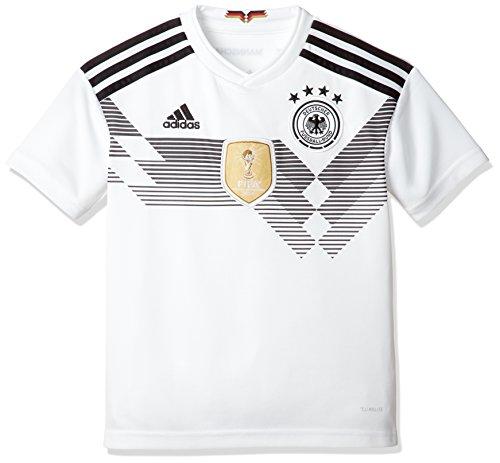 adidas Kinder Dfb Heim Replica Trikot, Weiß (White/Black), 176