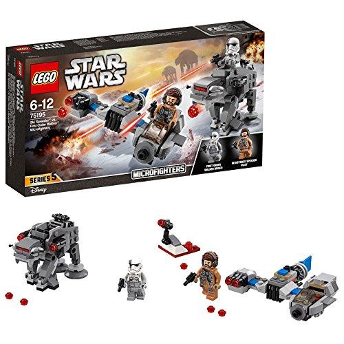 Lego Star Wars 75195 - Ski Speeder Vs. First Order Walker Microfighters, Spielzeug