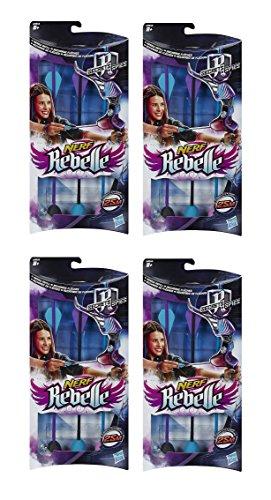 Nerf Rebelle 3-Pfeil-Nachfüllpackung, 4 Stück