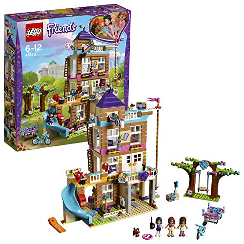 LEGO Friends 41340 - Freundschaftshaus, Beliebtes Kinderspielzeug