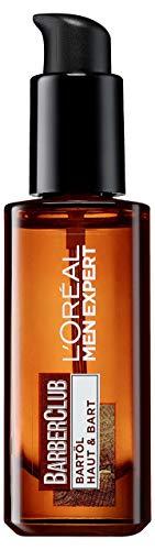 L\'Oréal Men Expert Bartöl mit Zedernholzöl für die tägliche Bartpflege, Barber Club, 1 x 30 ml