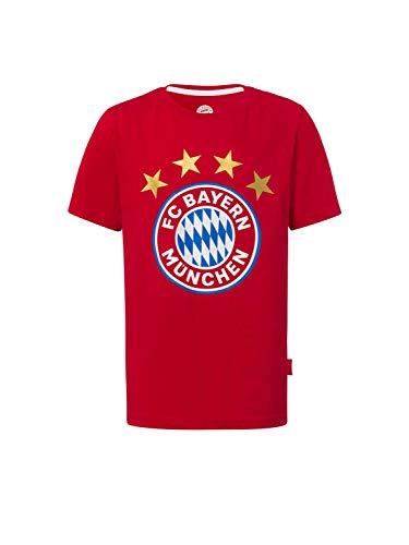 FC Bayern München T-Shirt Logo rot Kinder, 140