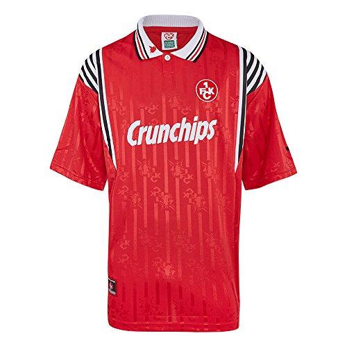 Score Draw Herren Retro - Trikot 1. FC Kaiserslautern   Heim Retrotrikot 1998 in Rot, Größe: XXL