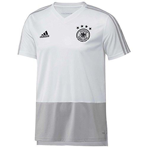 adidas Herren Trikot DFB, White/Grey Two/Black, S, CE6612