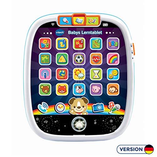 Vtech 80-602904 Baby Lerntablett, blau (deutsche Version)