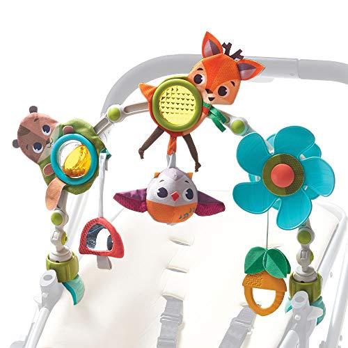Tiny Love - Spielbogen Musical Nature Stroll - Into the Forest, mit Rasselspielzeug, nutzbar ab der Geburt (0M+), Universal Befestigung passend für fast alle Tragetaschen, Babyschalen oder Kinderwagen