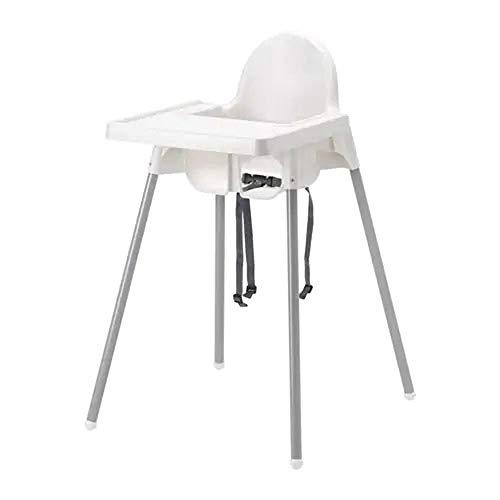 IKEA Antilop Hochstuhl mit Tablett, Weiß