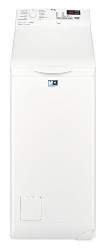 AEG L6TB40260 Waschmaschine Toplader / 6,0 kg / Mengenautomatik / Nachlegefunktion / Kindersicherung / Wasserstopp / 1200 U/min